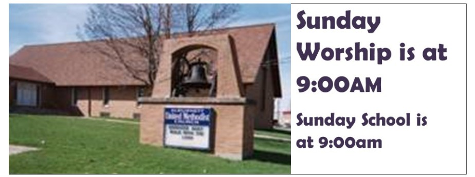 Sunday Worship  & Sunday School at 9:00 a.m.