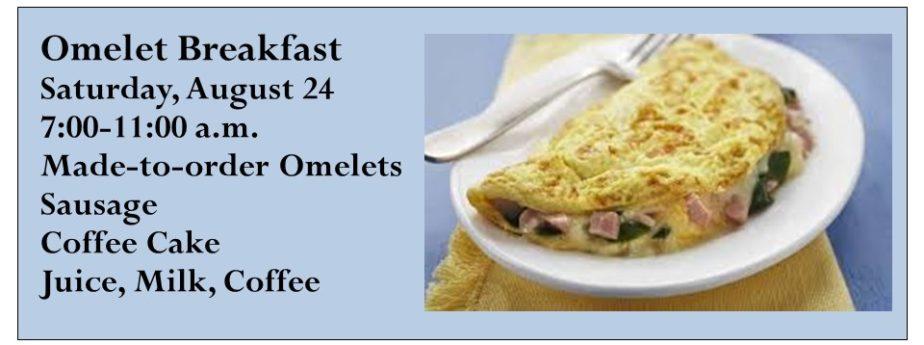 Omelet Breakfast 2019