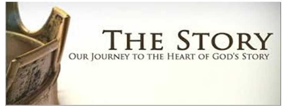 The Story: Each Sunday during Worship and Sunday School